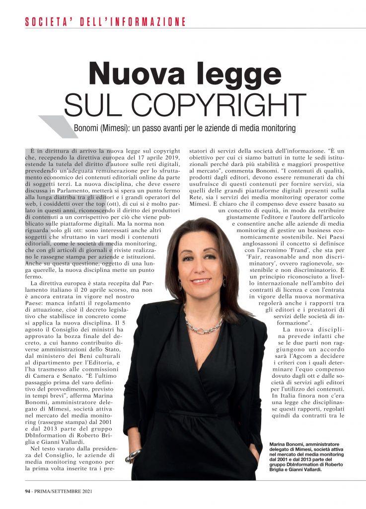 copyright intervista